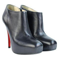 Christian Louboutin Black Belle Ankle 49cla32717 Boots/Booties