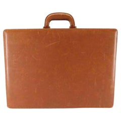 Gucci Brown Leather Attache Hard Briefcase 215832
