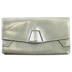 Alexander Wang Quillion Lydia 91misa3117 Silver Clutch