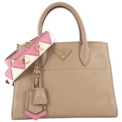 Prada Paradigme Handbag Saffiano Leather Medium