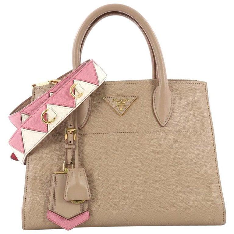 92712277dbdb Prada Paradigme Handbag Saffiano Leather Medium at 1stdibs