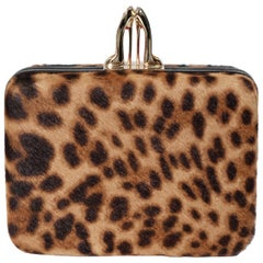 Christian Louboutin Leopard Clutch Bag