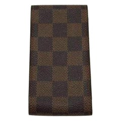 Louis Vuitton Brown Damier Ebene Etui Zigarettenetui 217405