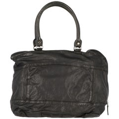 2000s Marni Black Leather Handbag
