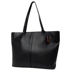 Chanel Timeless Caviar 218178 Black Leather Tote