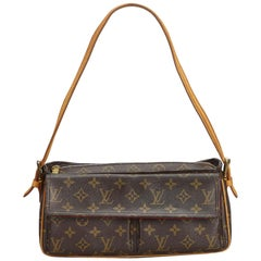 Louis Vuitton Brown Monogram Viva Cite MM