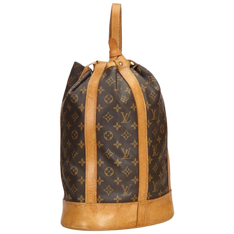 c5a053d355b5 Louis Vuitton Brown Monogram Randonnee GM For Sale at 1stdibs