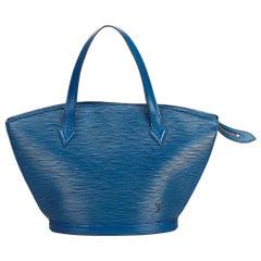 Louis Vuitton Blue Epi Saint Jacques Short Strap PM