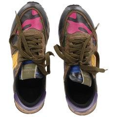 2010s Camouflage Rockrunner Valentino Sneaker