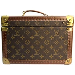 LOUIS VUITTON Monogram Canvas Vintage Beauty Case