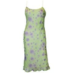 Silk Slip Dress by Lorena Conti