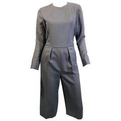 Yves Saint Laurent Wool Jumpsuit