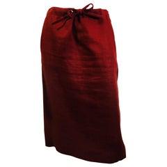 Hermes Paris Pencil Skirt