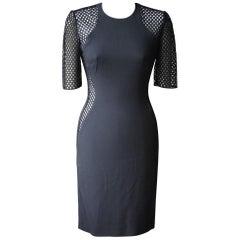 Stella McCartney Mesh April Illusion Dress