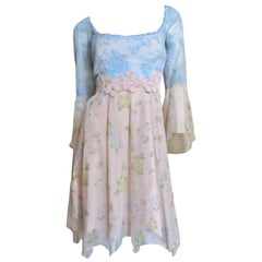 Lolita Lempicka Silk and Lace Dress