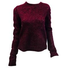 Celine Fuzzy Knit Sweater