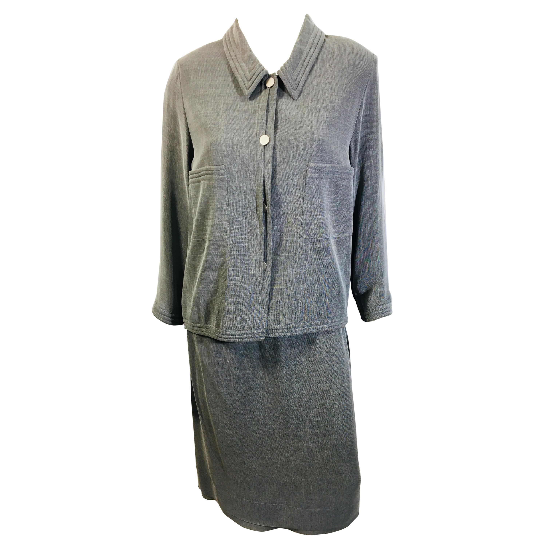 Chanel 3 PC Skirt Set