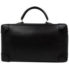 Hermès Maxibox Evergrain 37 218575 Black Leather Hobo Bag