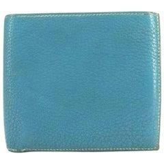 Hermès Blue Bifold 218459 Wallet