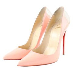 Christian Louboutin Pink Flamingo So Kate 120 2clr1115 Sandals