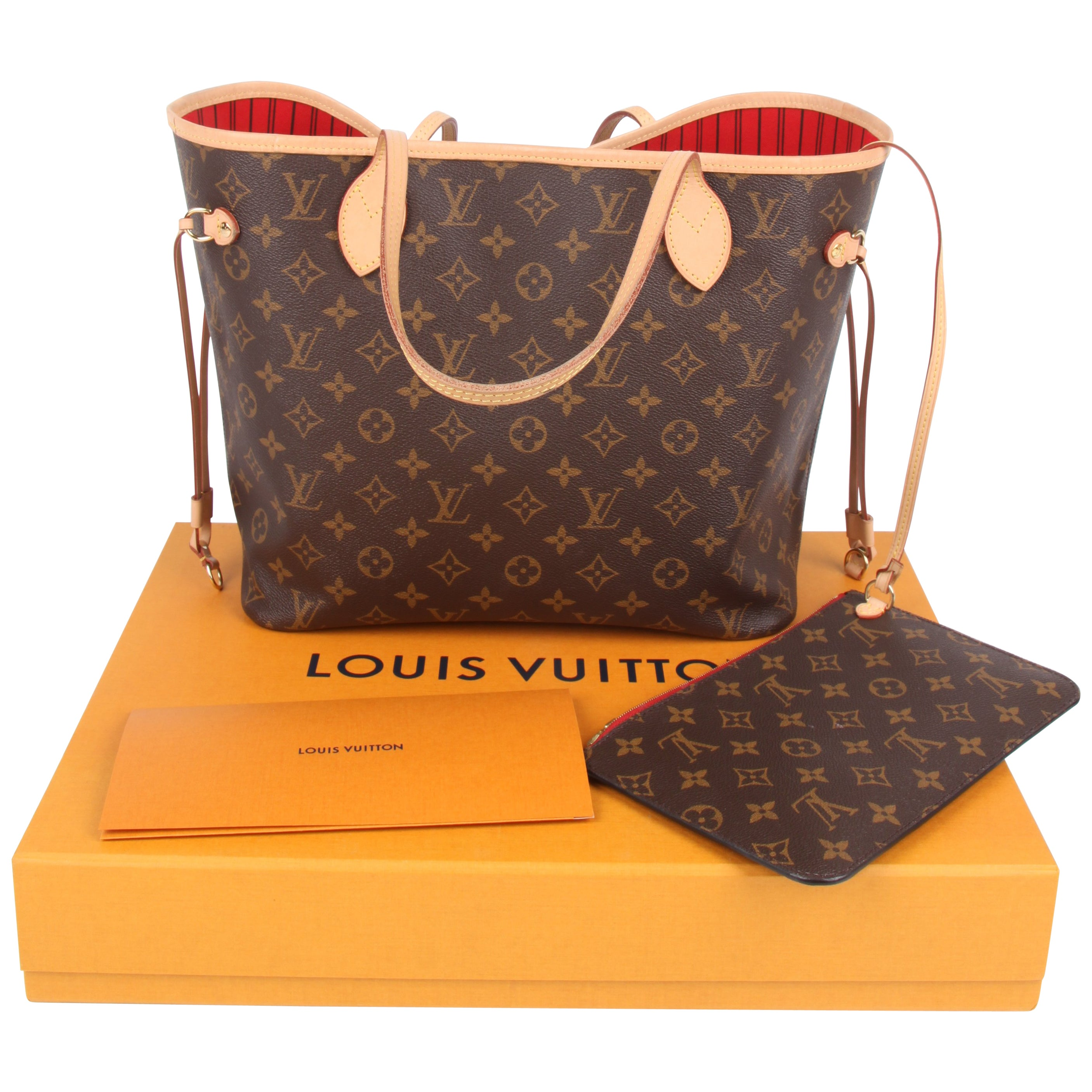 d1c5f2c672d2 Louis Vuitton Neverfull MM Monogram Tote Bag - brown at 1stdibs