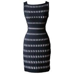 Azzedine Alaïa Perforated Mini Dress