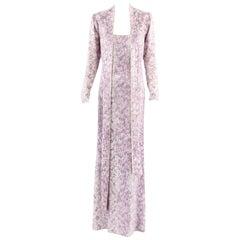 Yves Saint Laurent haute couture dress, circa 1979
