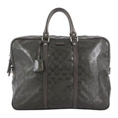 Gucci Convertible Briefcase GG Imprime Large