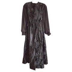 Haute Couture Giuliana TESO Fur Dress Black Wild Russian Breshvans- Unworn, New