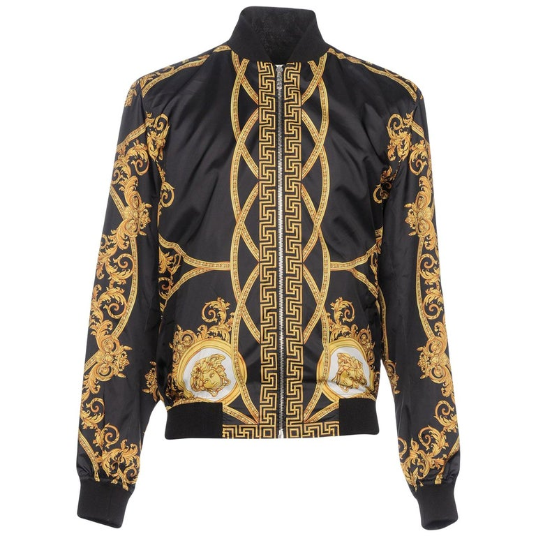 6c6e09576e02 VERSACE PRINTED BOMBER JACKET as seen on BRUNO MARS at 1stdibs