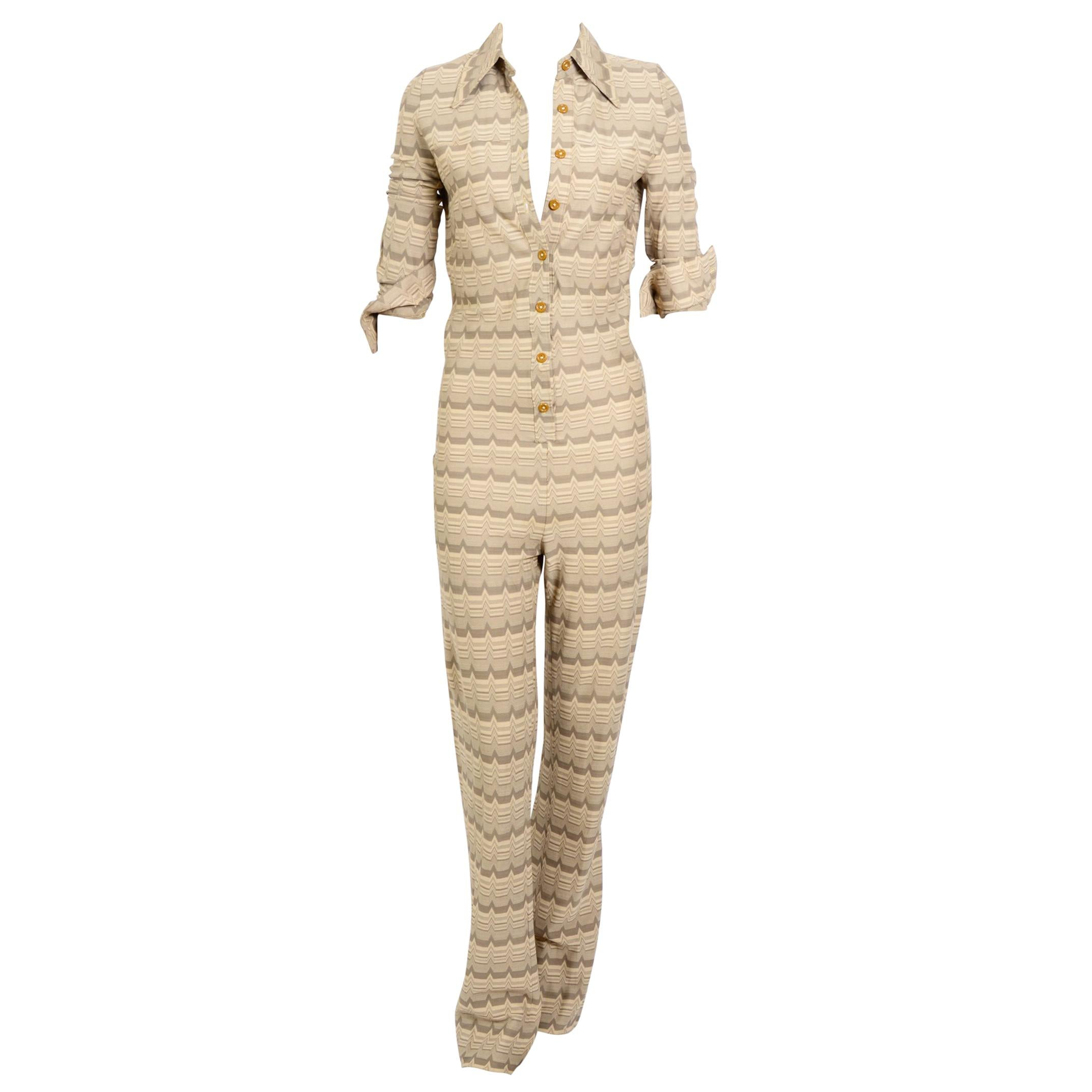 Vintage 1960s Mary Quant Twiggy style catsuit
