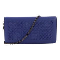 Bottega Veneta Wallet on Chain Intrecciato Nappa