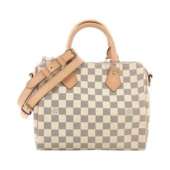 Louis Vuitton Speedy Bandouliere Bag Damier 25