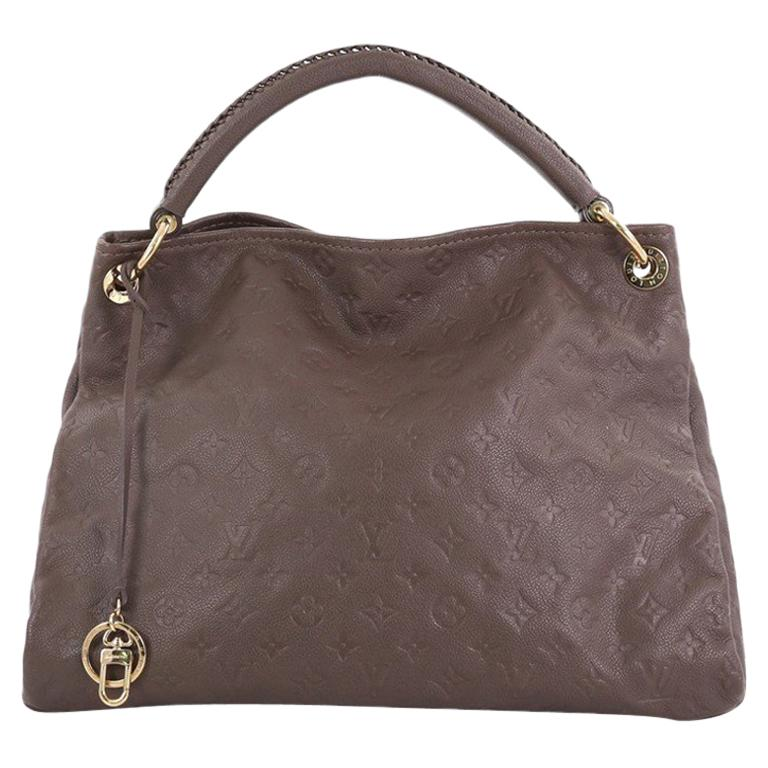 e11e4279560e Louis Vuitton Artsy Handbag Monogram Empreinte Leather MM For Sale at  1stdibs