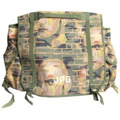 Rare 1980s Jean Paul Gaultier unisex large print backpack