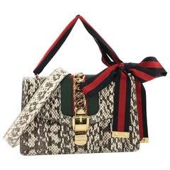 Gucci Sylvie Shoulder Bag Snakeskin Small