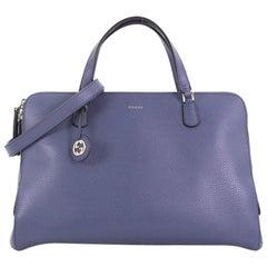 Gucci Lady Dollar Handle Bag Leather Medium,
