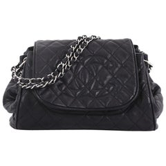 f39398cfee Chanel Timeless Accordion Flap Bag Quilted Caviar