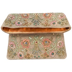 1960s Marketa Embossed Clutch