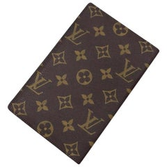 Louis Vuitton Brown Monogram Long Organizer Bifold Flap Wallet 230443