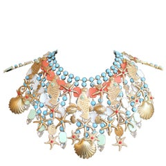 Carlo Zini Fancy Marine Necklace