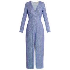 Temperley London Tiara sequin-embellished jumpsuit US 8