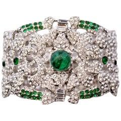Carlo Zini Emerald Bracelet