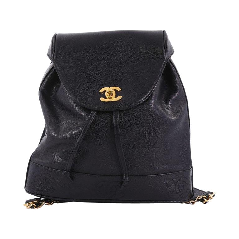 Chanel Vintage Backpack Caviar Medium at 1stdibs 31bbdc7d6a649