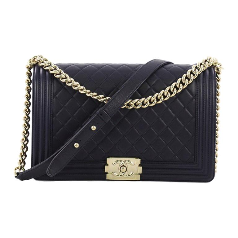 25a2a83f977 Chanel Medium Boy Quilted Flap Bag New - Best Quilt Grafimage.co