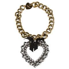 Lanvin Mira Large Heart Necklace