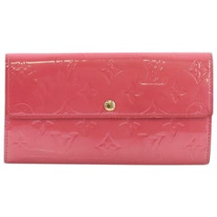 Louis Vuitton Sarah Wallet Monogram Vernis