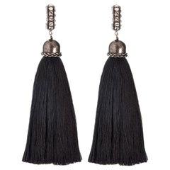 Lanvin Marina Tassel Clip on Earrings