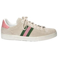 New Tom Ford for Gucci Crocodile and Suede Sneakers Tennis Shoes Flats