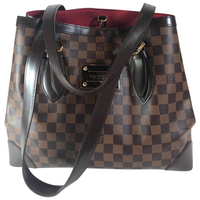 Louis Vuitton Damier Ebene Hampstead PM For Sale at 1stdibs b65609f51e2bb